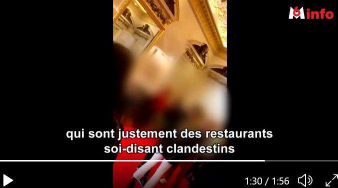 Des ministres de Macron dînent dans des restaurants clandestins où les menus sont à plus de 500 €