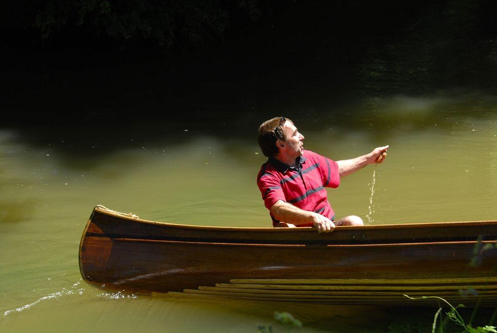 randonnée canoë sur la Dives, en Normandie