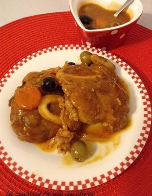OSSO-BUCO aux olives