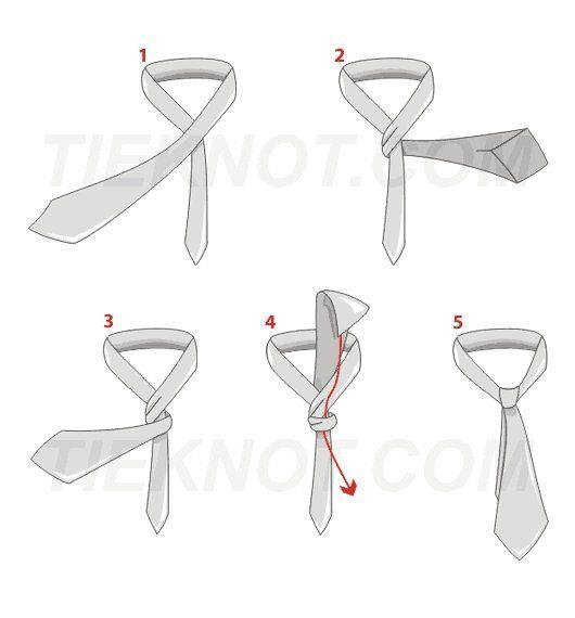Per gli imbranati che non sanno fare il nodo alla cravatta, ecco il tutorial