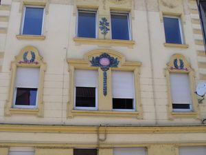N° 26 rue Poincaré à Algrange - Commerce - Peintures - Droguerie - Habitation