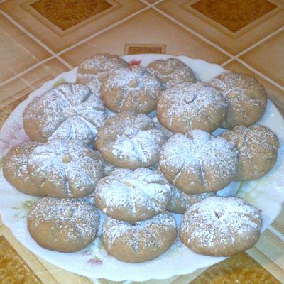 marguerite : biscuit sablé facile !!