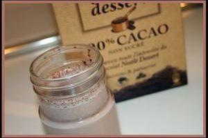 Yaourt cacaoté