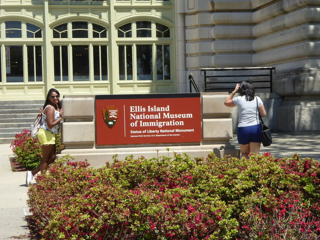 New York City, Ellis Island, Musée de l'Immigration - Mai 2017.