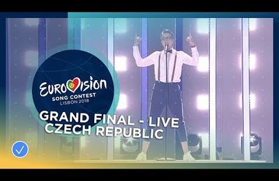 Mikolas Josef - Lie To Me - Czech Republic - LIVE - Grand Final - Eurovision 2018