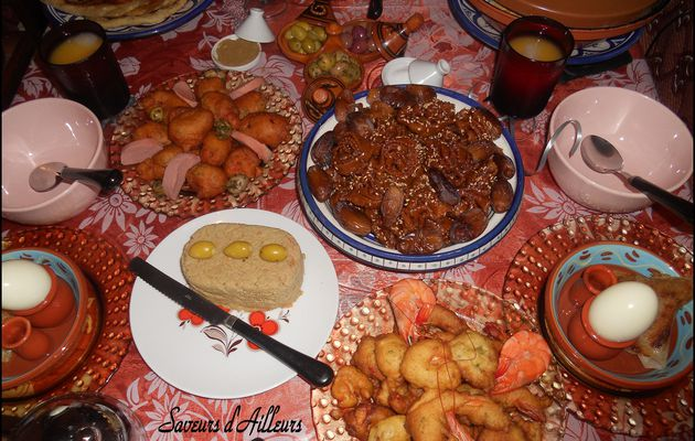 Encore une table de ftour - Ramadan 2010