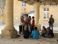 Le matin: visite de Cadouin et de l'abbaye