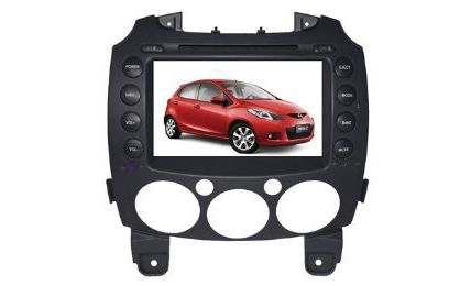 37 tv | Buying Piennoer Car GPS Original Fit (2008-2012) Mazda 2 6-8 Inch Touchscreen Double-DIN Car DVD Player  &  In Dash Navigation System,Navigator,Built-In Bluetooth,Radio with RDS,Analog TV, AUX & USB, iPhone/iPod Controls,steering wheel control, rear view camera input