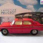 PEUGEOT 404 TOIT OUVRANT DINKY TOYS MECCANO FRANCE 1/43 - car-collector.net