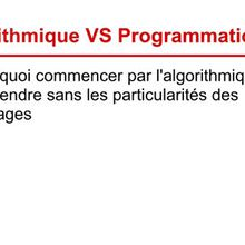 #TutorielAlgoBox : Initiation l'algorithmique -  La notion de variable