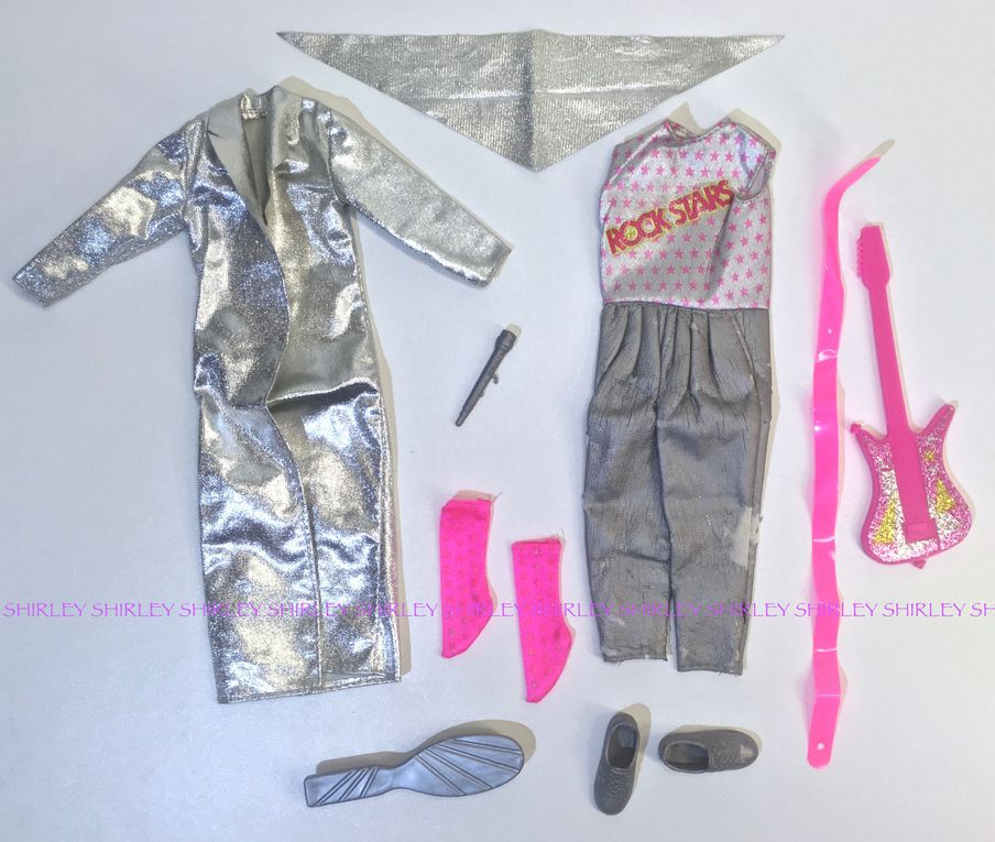 """ROCKERS"" KEN DOLL CLOTHES 1986 MATTEL #3131"