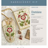 Chatelaine: A Gorgeous (and useful) Embroidery Kit