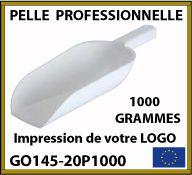 Pelle professionnelle d'une contenance de 1000 grammes - Fabrication européenne - GO145-20P1000