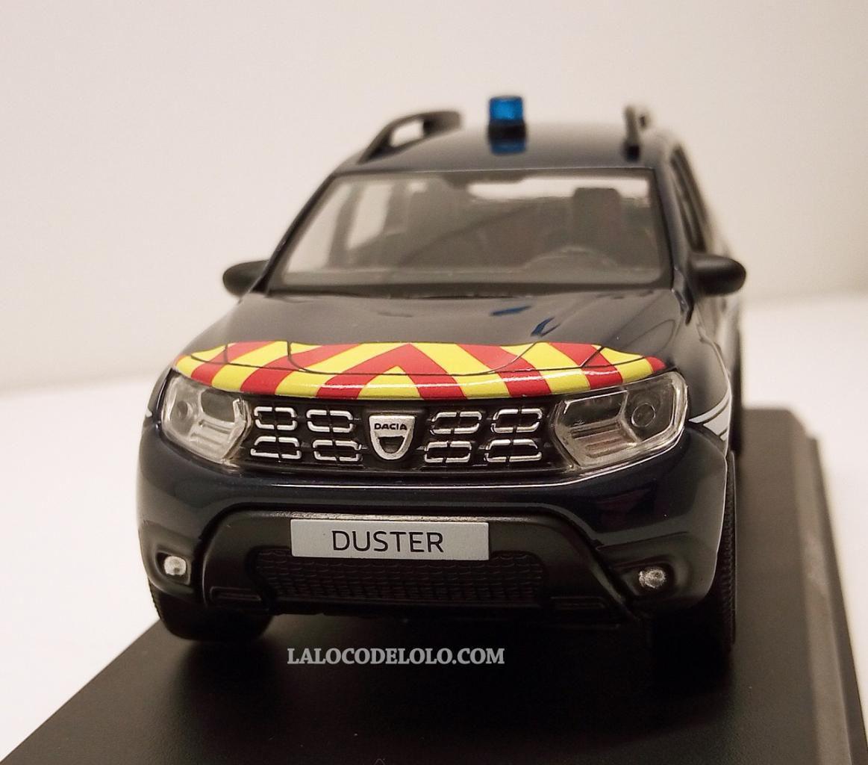 Dacia Duster Gendarmerie/pompiers/Police au 1/43 (Norev)