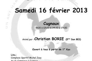Ecole des Cadres animé par Christian Borie le 16 février 2013