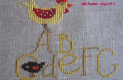 SAL ABC poules : objectif 2