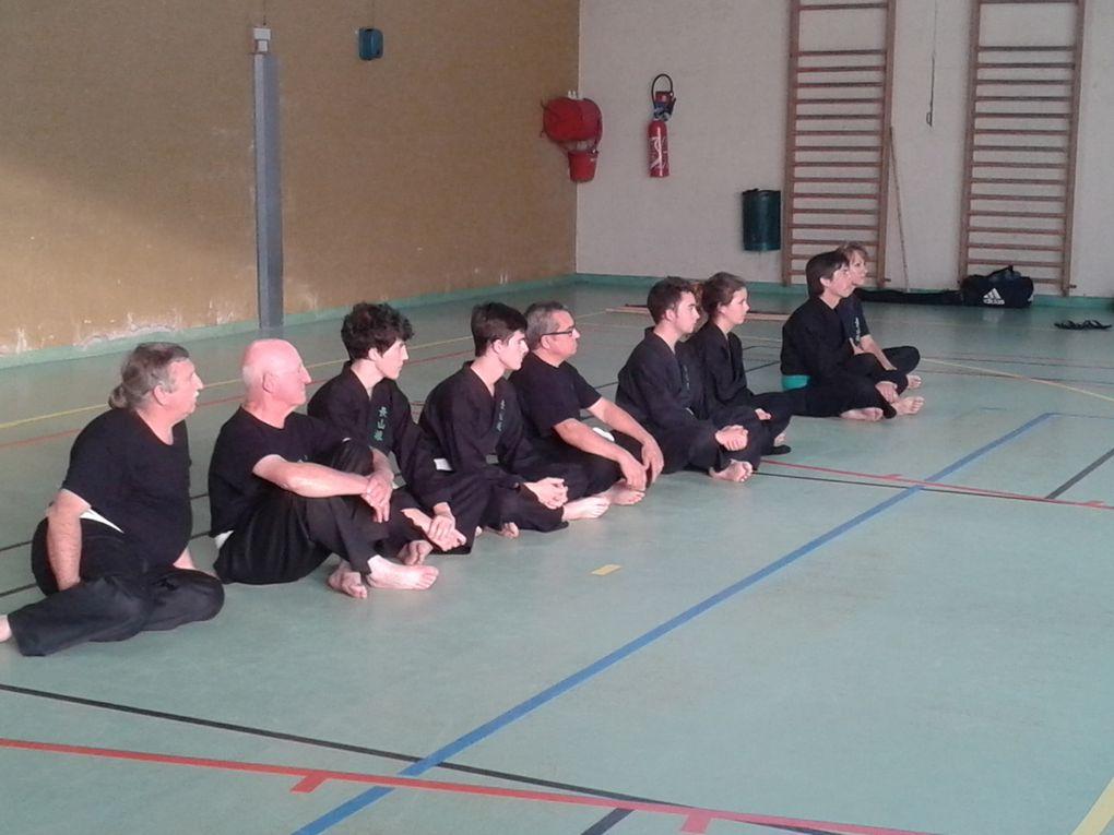 premier cours de cuisine et démonstration d'arts martiaux (Viêt Vo Dao et Khi Dao)