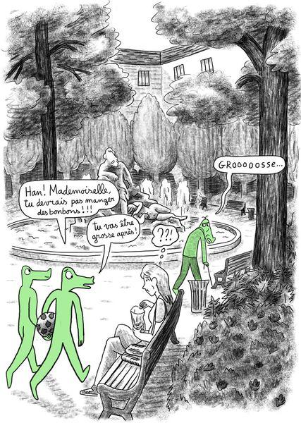 Projet crocodile, et si on parlait de harcelement?
