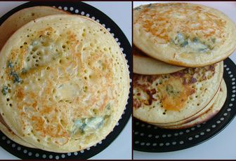 Pancakes aux 3 fromages