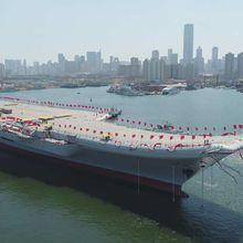 Pékin met à l'eau un nouveau porte-avions : plus que les océans, la Mer de Chine à l'horizon