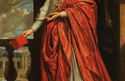 Portrait du Cardinal de Richelieu 1640 par Philippe de Champaigne