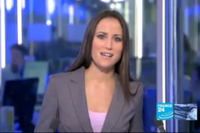 2012 01 11 @17H00 - JESSICA LE MASURIER, FRANCE 24, THE NEWS