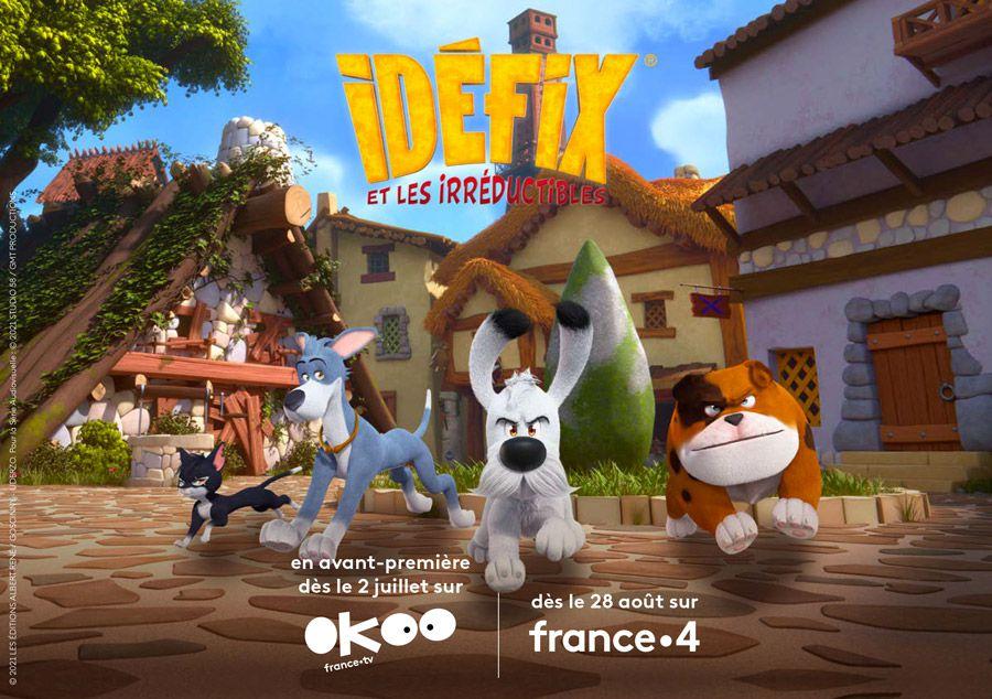 """La série animée """"Idéfix et les irréductibles"""" diffusée dès ce matin sur France 4"""
