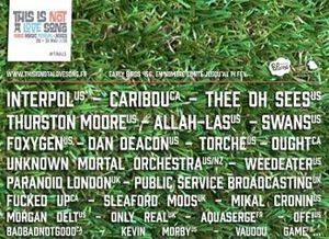 This Is Not A Love Song Festival : Interpol, Caribou, Foxygen, Thurston Moore, Thee Oh Sees, Ought
