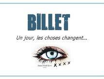 🌟 Un jour, les choses changent ...🌟