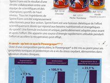 Alimentation sport : Sprint form le meilleur produit ?