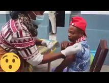 Moun Gwadloup - Un quart de pain, une boîte de sardine et 75ct/euros pour pousser les pauvres à se vacciner en Afrique