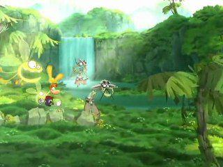 Rayman sur double couche