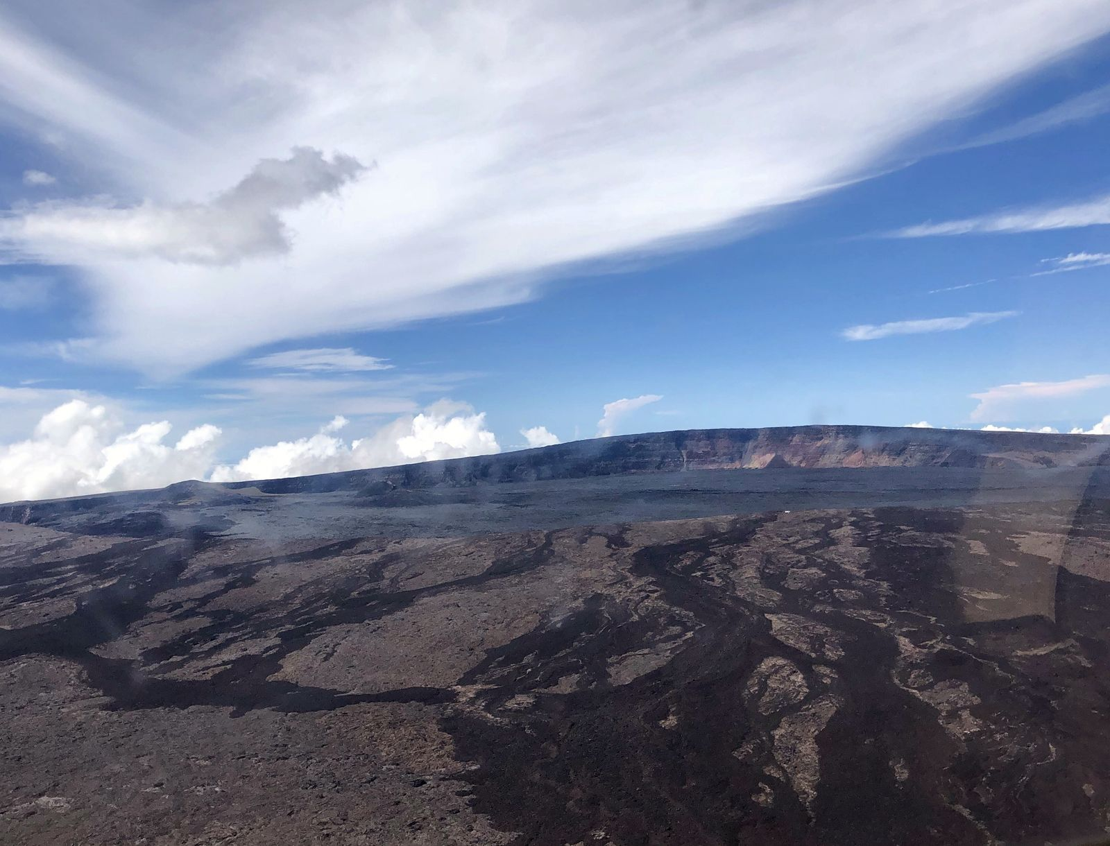 Mauna Loa - the summit caldera - image archives USGS HVO 10.2019