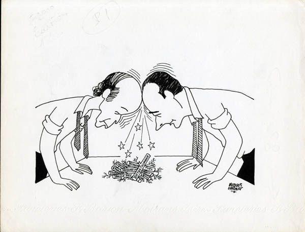 Giscard d'Estaing, en quelques centaines de caricatures...