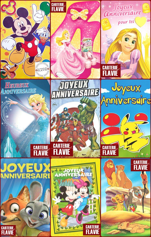 Pour son anniversaire, offrez une carte Disney ou Licence :)