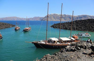 L'archipel de Santorin – 7 – Palea et Nea Kameni