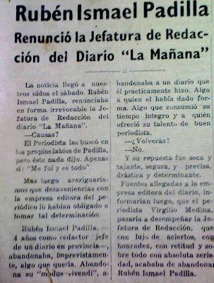 HISTORIA DEL DIARIO LA MAÑANA