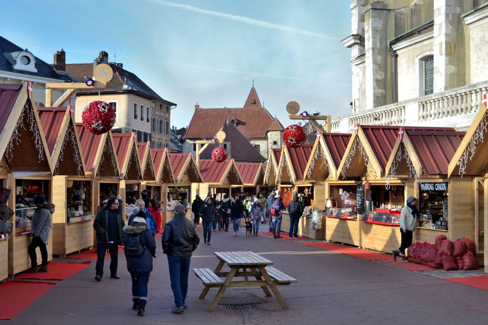Le Marché de Noël d'Annecy...
