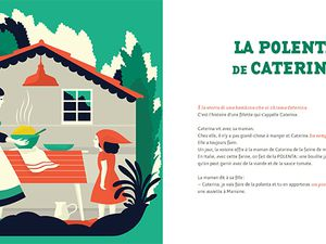 La polenta de Caterina & Coq Doré / Débora Di Gillio - Didier Jeunesse