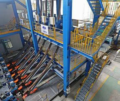 [Technology Reform Stage] Dalian Special Steel Company's major technical transformation project - six machine six-flow billet continuous casting machine hot test run once successful