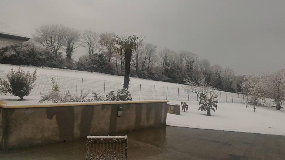 Neige en décembre...