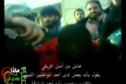 Libye - Voici comment les rebelles du CNT de Sarkozy aiment les Noirs (1)