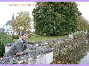 La Sainte Chapelle de Champigny sur Veude. 2014