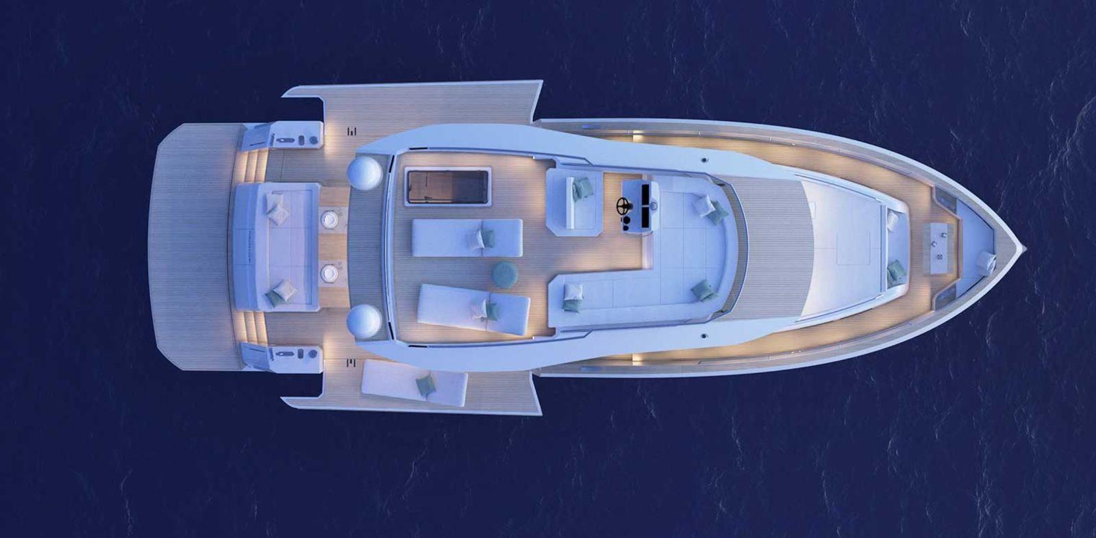 Pardo E60, entre yacht et trawler passagemaker, le luxe en prime !