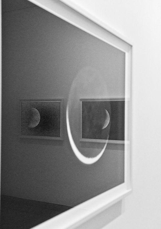 Vues de l'exposition  de Vera Lutters,  organisée par  le Carré d'Art de  Nîmes pour l'été 2012
