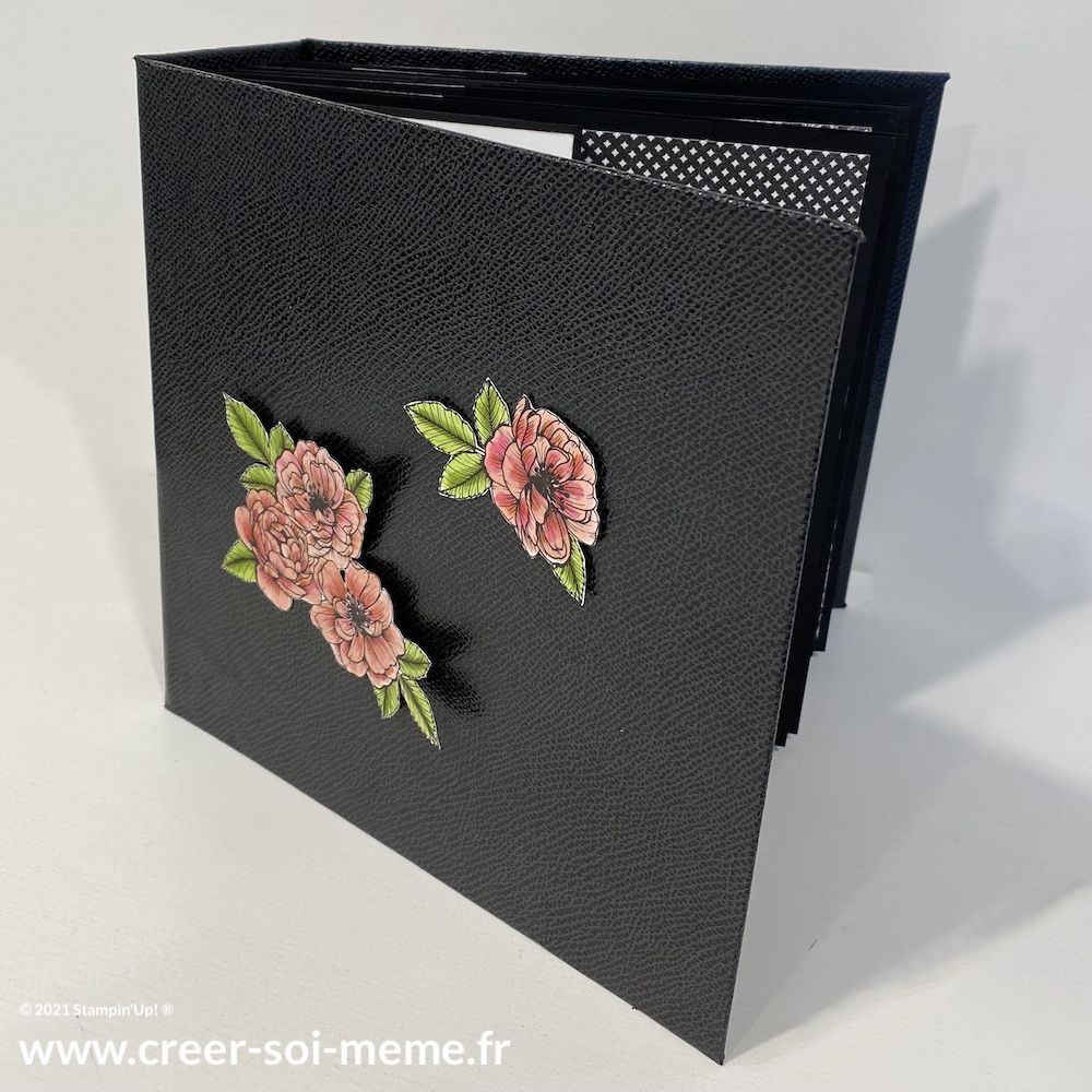 tutoriel album photo scrapbooking stampin up gratuit offert par sonia benedetti demonstratrice en france normandie