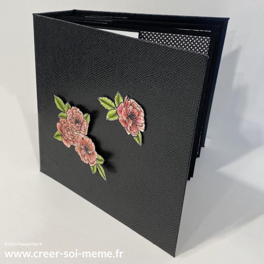 tutoriel album photo scrapbooking stampin up gratuit offert par sonia benedetti demonstratrice en france normandie