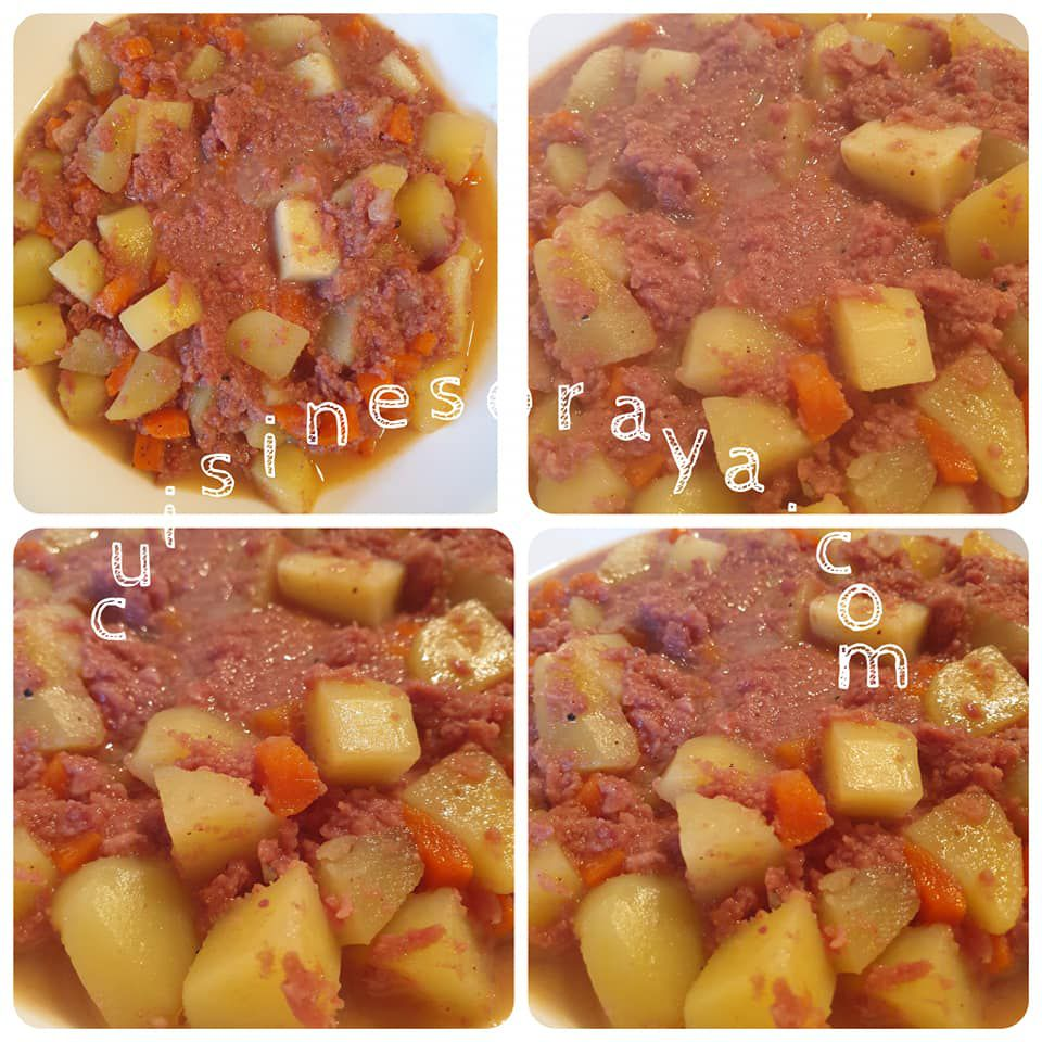 Ragout - Rata au corned-beef