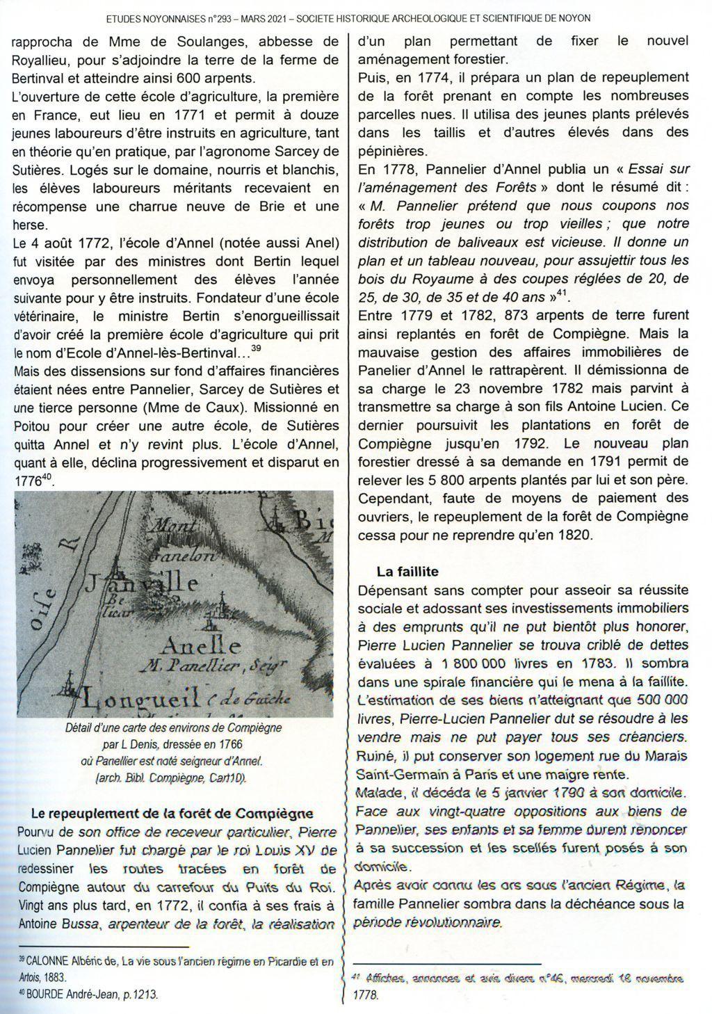 Album - le village de Longueil-Annel (Oise), le chateau d'Annel par Jean-Yves Bonnard, société historique de Noyon