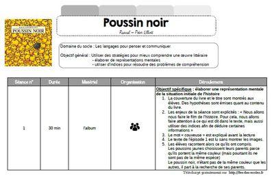 Lecture compréhension : Poussin Noir de Rascal -GS-CP-CE1